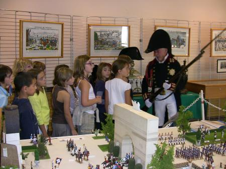 Les enfants de l'Ecole Primaire découvrent Napoléon