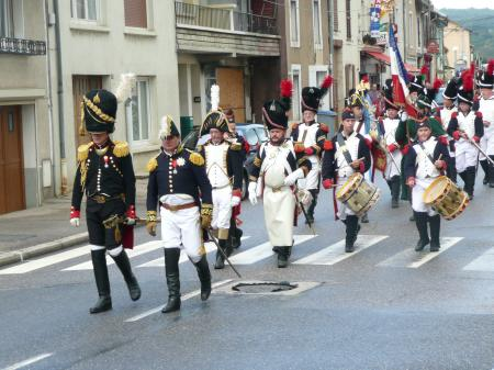Les Grognards défilent à Marbache les 5-6 Septembre