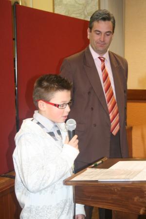 Les VOEUX du Maire de Marbache - 17.01.2009