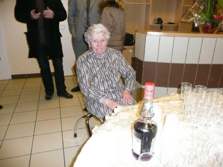 Lucie ROBIN, la doyenne de Marbache célèbre ses 94 ans