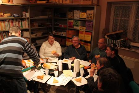 PARTAGE DE LA GALETTE - 20.01.2010