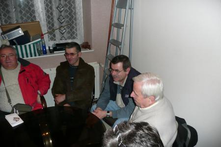REUNION DE TRAVAIL DU GROUPE