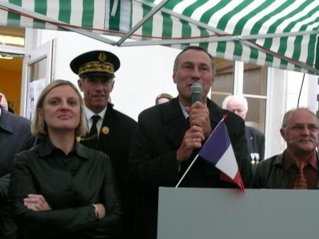 VISITE JM. BOCKEL - Secrétaire Etat -13 septembre 2008